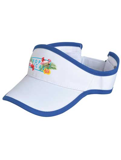 Sports Visor With Print