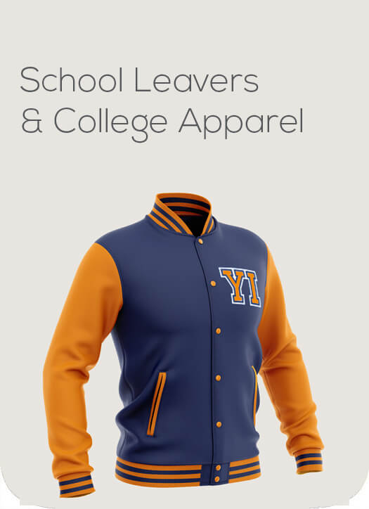 School Leavers and College Apparel