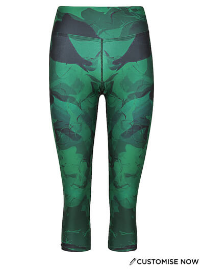 Sublimated 3/4 Tights