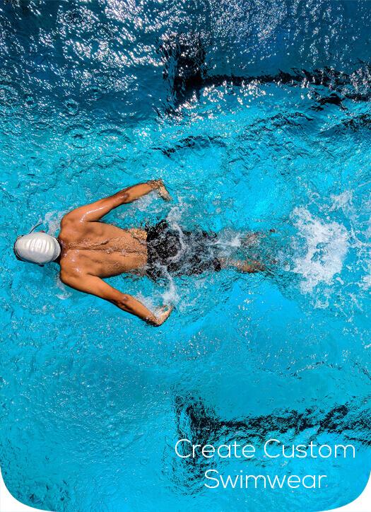 Man In a Pool Swimming