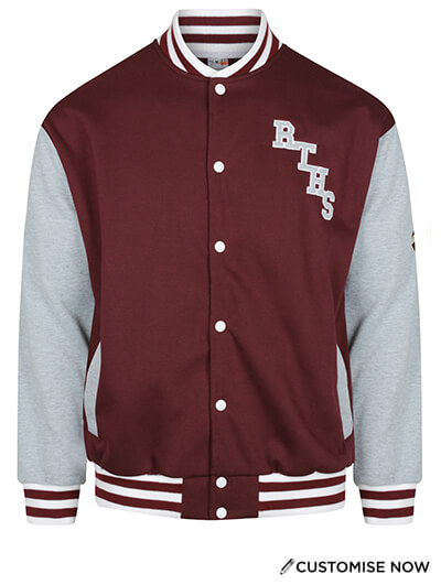 Varsity Jacket | Pontoon Custom Teamwear
